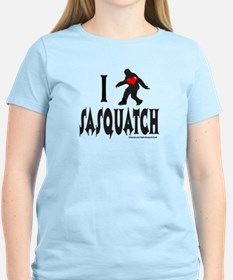 I HEART/LOVE SASQUATCH T-Shirt