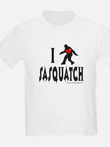 I HEART/LOVE SASQUATCH T-Shirt