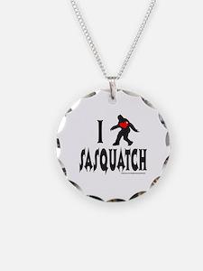 I HEART/LOVE SASQUATCH Necklace