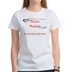 Phrenology a bumpy ride Women's T-Shirt