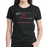 Phrenology a bumpy ride Women's Dark T-Shirt