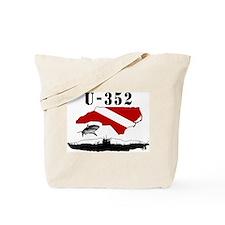 U-352 Wreck Diver Original Scuba Dive Design Tote