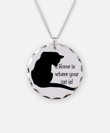 Home Cat Necklace
