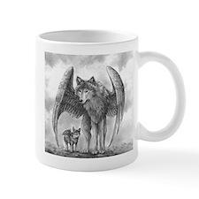 Winged Wolves Mug