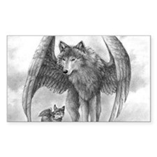 Winged Wolves Decal