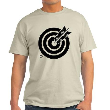 Arrow hit a round target Light T-Shirt