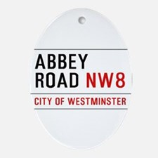 Abbey Road NW8 Ornament (Oval)
