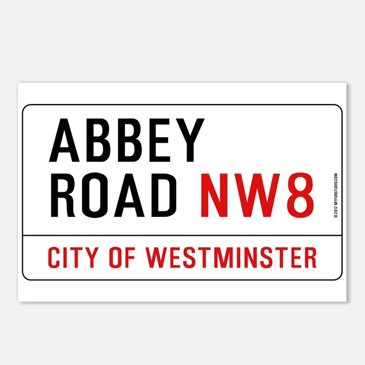 Abbey Road NW8 Postcards (Package of 8)