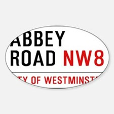 Abbey Road NW8 Decal