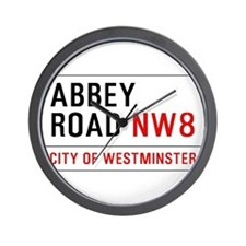 Abbey Road NW8 Wall Clock
