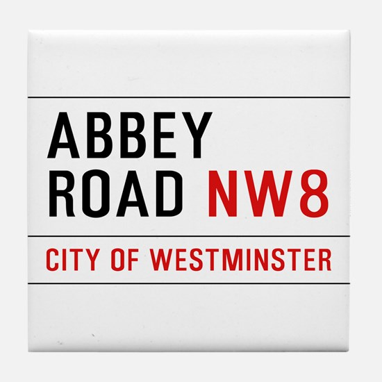 Abbey Road NW8 Tile Coaster