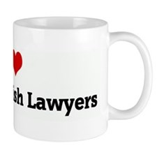 I Love Persian Jewish Lawyers Mug