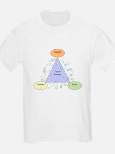 patience empathy peace - lg T-Shirt