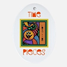 Long Time Colorful Ornament (Oval)