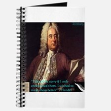 George Handel Journal