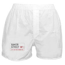 Baker Street W1 Boxer Shorts