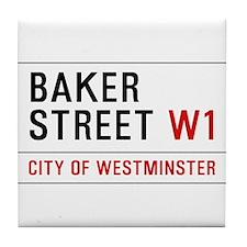 Baker Street W1 Tile Coaster