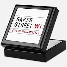 Baker Street W1 Keepsake Box