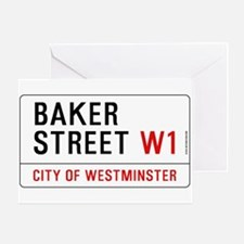 Baker Street W1 Greeting Card