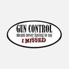 Gun Control Patches
