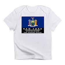 New York State Flag Infant T-Shirt