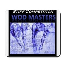 Stiff Competition Blue Shoulders Mousepad