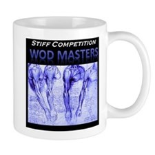 Stiff Competition Blue Shoulders Mug