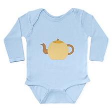 Beige Teapot. Onesie Romper Suit