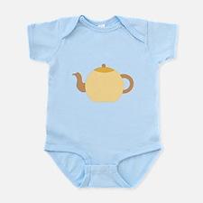 Beige Teapot. Onesie