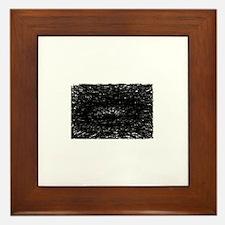 The Black Hole Framed Tile