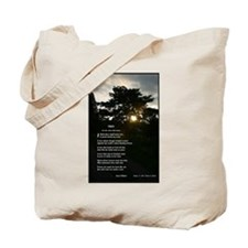 Trees by Joyce Kilmer Tote Bag