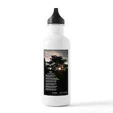 Trees by Joyce Kilmer Water Bottle