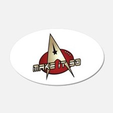 Make It So Star Trek Wall Decal