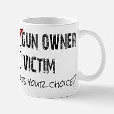 Gun Owner vs Victim Mug
