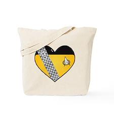Lieutenant Worf Heart Tote Bag
