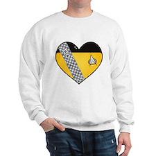 Lieutenant Worf Heart Sweatshirt