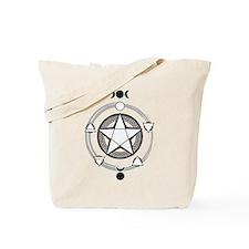 Elemental Pentagram Tote Bag