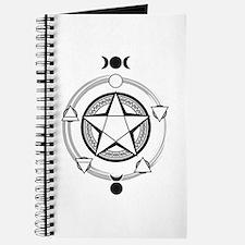 Elemental Pentagram Journal