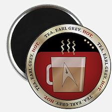 Tea. Earl Grey. Hot. Magnet