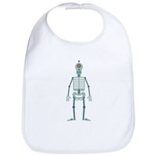 Skeleton Robot Bib