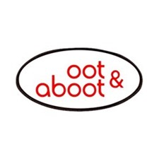 Oot & Aboot (red) Patch