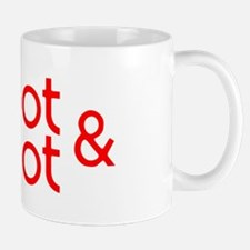Oot & Aboot (red) Small Mugs