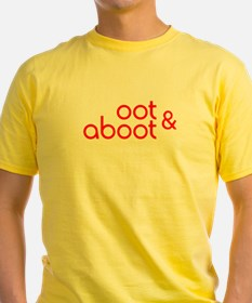 Oot & Aboot (red) T