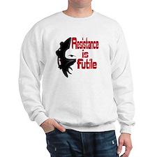 Picard Borg Resistance is Futile Sweatshirt