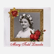 Mary Todd Lincoln Throw Blanket
