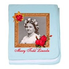 Mary Todd Lincoln baby blanket
