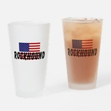 American Rockhound Drinking Glass