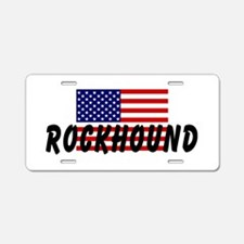 American Rockhound Aluminum License Plate