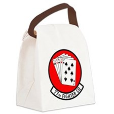 77SQ.png Canvas Lunch Bag