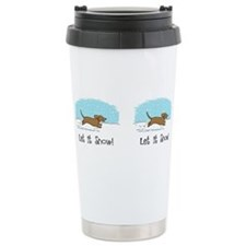 Cute Dacshound Travel Mug
